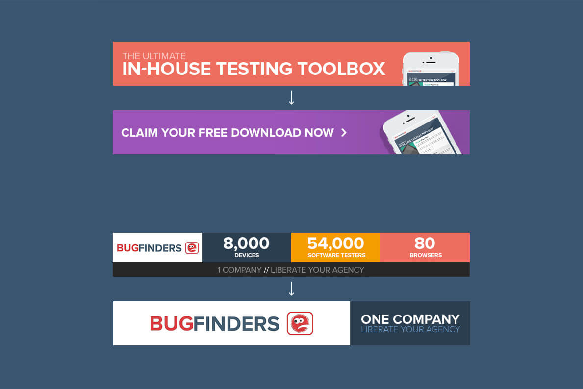 Bugfinders display ad design