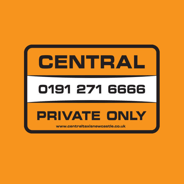 Central Taxis Newcastle logo
